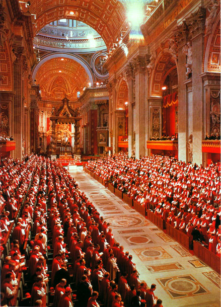 second vatican council The second ecumenical council of the vatican, or vatican ii, was the twenty-first ecumenical council of the roman catholic churchan ecumenical council is a meeting of the bishops of the.