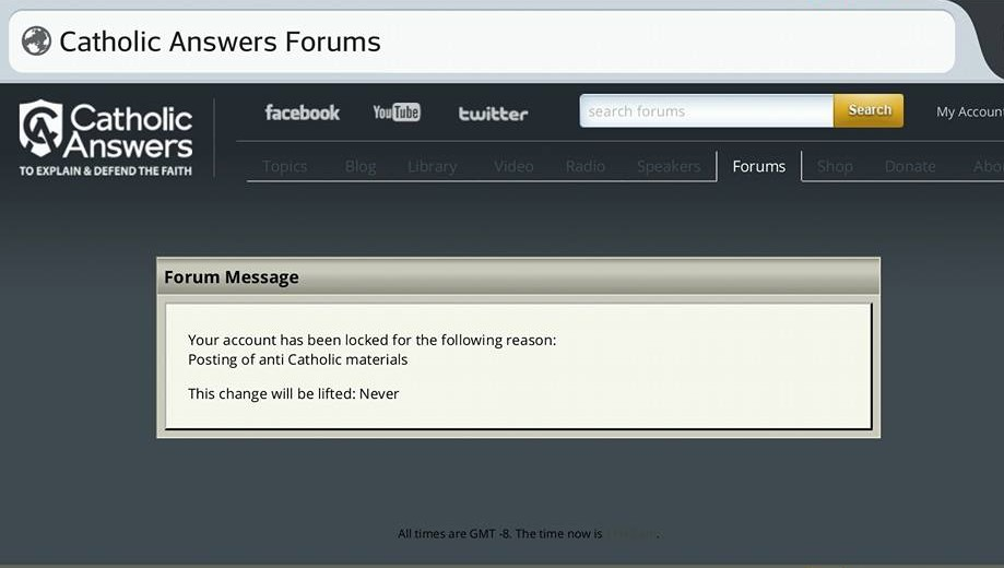 Catholic Answers Forums
