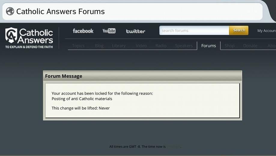 Catholic Answers Forums