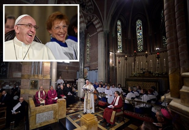 Pope Francis Anglican Communion